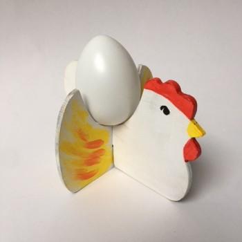Eierhalter Hühnchen zum Selbstgestalten