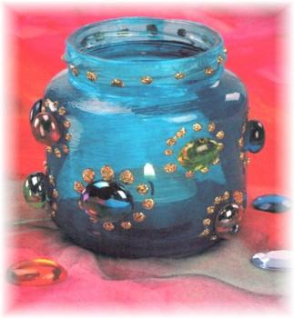 Glittermix-Malfarbe