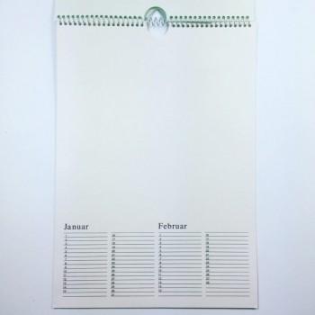 Kalender zum Selbstgestalten ab 0,59 €