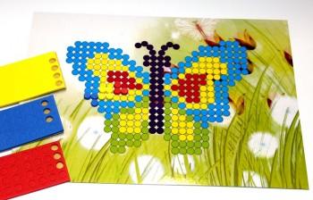 Gestaltungsset-Schmetterling