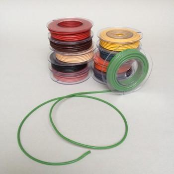 Lederschnur-Set, rund