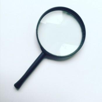 Lupe mit 5-fach-Vergrößerung