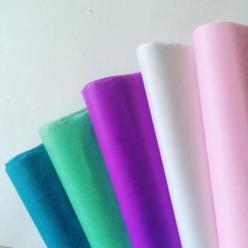 Seidenpapier Sonderfarben