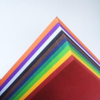 Fotokarton Einzelfarben je 25 Großbögen