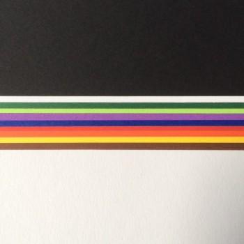 Tonzeichenpapier Einzelfarben 50 Großbögen