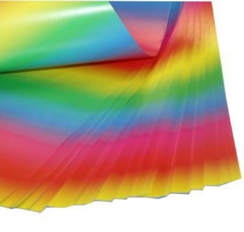 Regenbogenpapier beidseitig