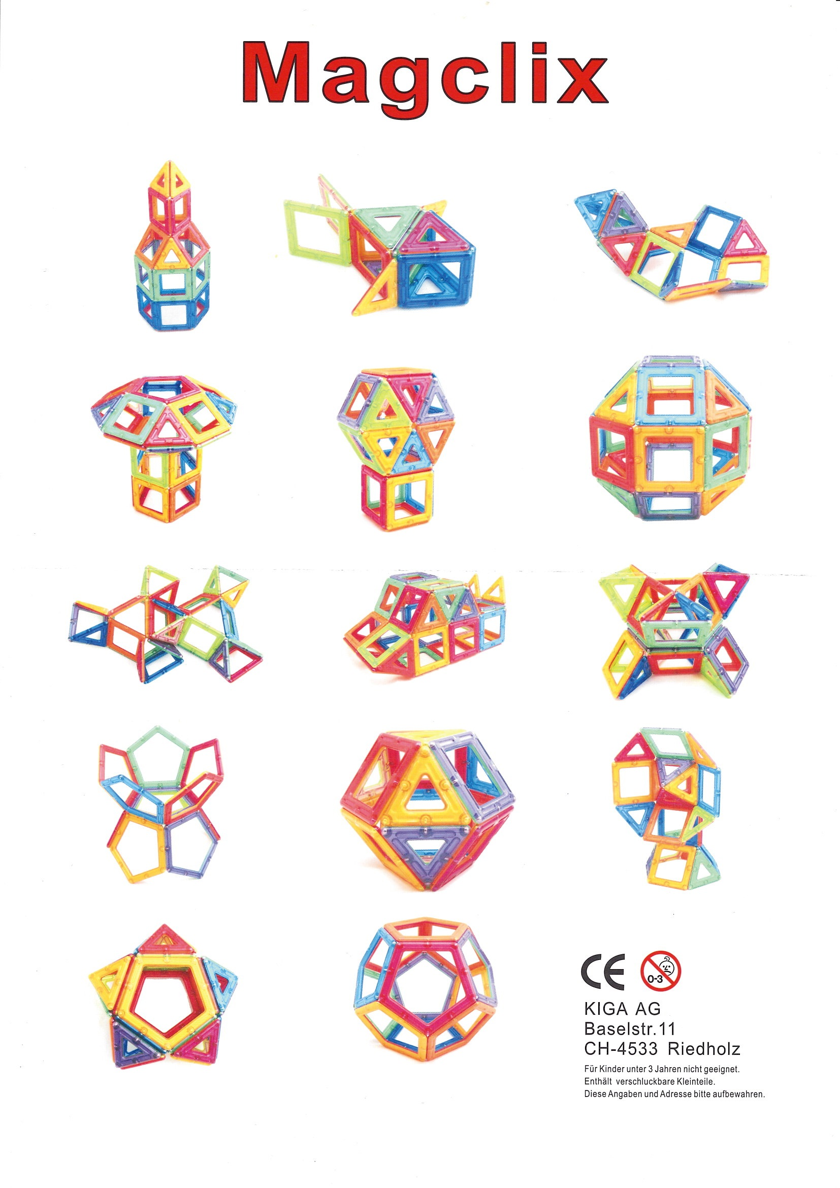 MagClix Magnet-Konstruktionsspiel-0845500