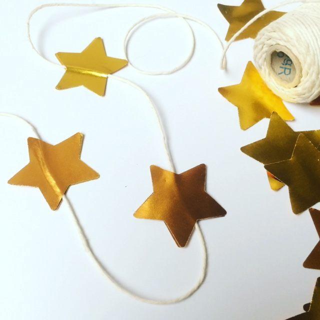 Weihnachtsbasteln Sterne Aus Goldpapier.Goldfolie Einzelfarben 0401700