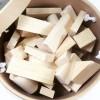 Holzbausteine Sortiment, 250 Teile