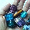 -Sonderposten- Große Glasperlen 1kg
