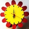 Holzuhr Bastelset mit Uhrwerk