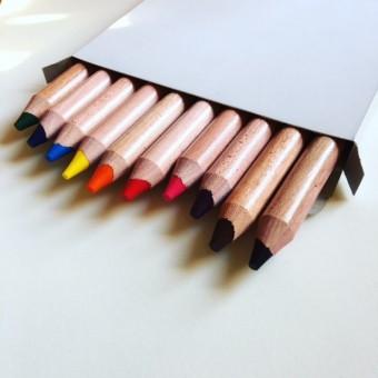 Erste Buntstifte, 10 Farben