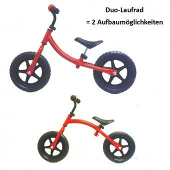 Duo-Laufrad, umbaubar