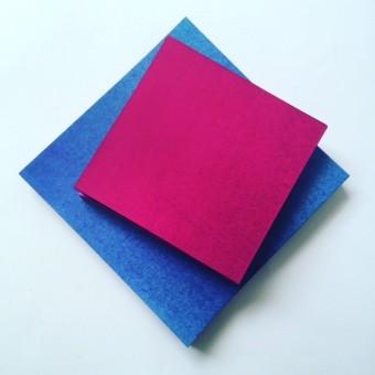 Duo-Faltblätter 15 x15 cm