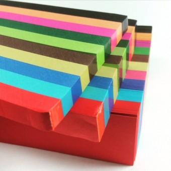 Papierstreifen, Flechtstreifen 2cm x 50cm