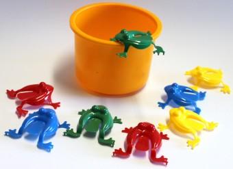 Frosch-Hüpf-Spiel