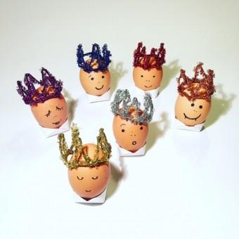 Krönchen für Eierköpfe