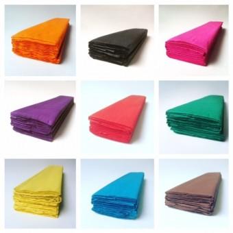 Krepppapier Einzelfarben