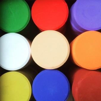 Wasserfarben-Puks 6er