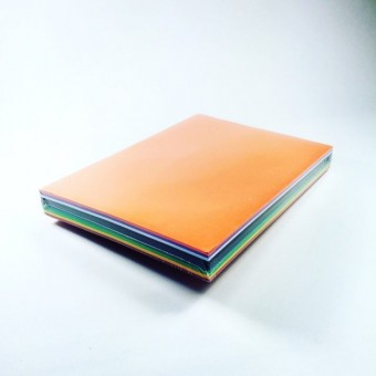 Tonpapier A4 Sortiment 10 Farben