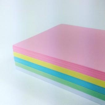 Tonpapier A4 Pastell