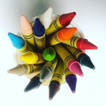 Wachskreiden Einzelfarben 25er Pack